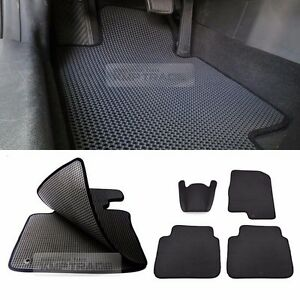 Eva Front Rear Weather Double Floor Mats Cover Pad Full