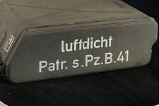 STENCIL schablone WW2 WWII GERMAN AMMO SHELL  BOX CASE TIN 2.8cm Patr.s.Pz.B.41