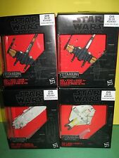 Star Wars: The Force Awakens Black Series Titanium 4 ITEMS THE GHOST, X WING