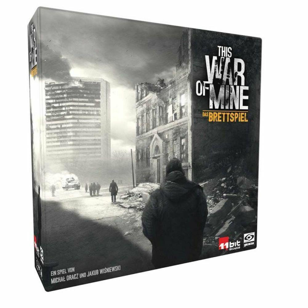 This War of Mine - Offizielles Brettspiel   DEUTSCH   Asmodee 11 Bit Studios