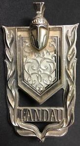 70s Chevrolet Monte Carlo Landau Script Emblem GM OEM 9657609 Metal