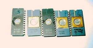 Intel type  2764 ID2764 EPROM 5 pieces