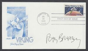 Ray-Bradbury-American-Science-Fiction-Author-amp-Screenwriter-signed-Space-FDC