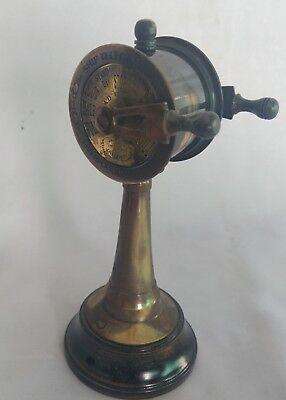 Antique Nautical Brass Ship Telegraph Vintage Collectible Home Decorative