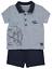 Baby Boys Disney Winnie the Pooh Tigger Polo Shirt and Shorts Outfit 0-18 Months