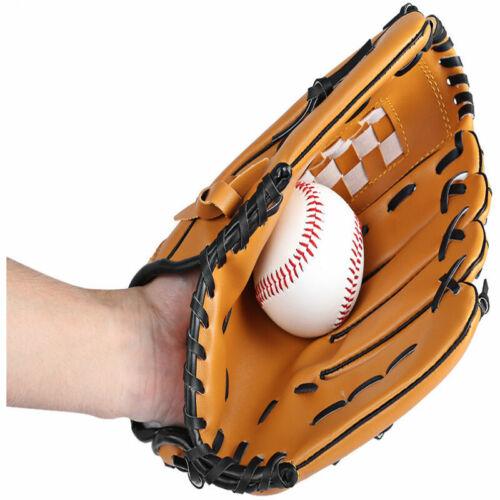 Soft Leather Sport Practice /& Trainning Base Ball BaseBall Softball New FA