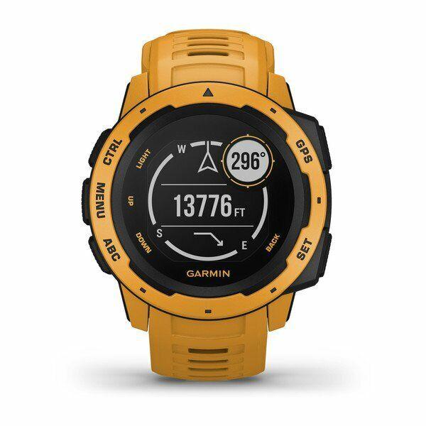 Garmin Instinct 010-02064-03 Sunburst GPS+Glonass+Galileo Smart Watch