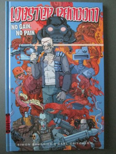 Lobster Random 2000 AD Graphic Novel Comic Book Rebellion