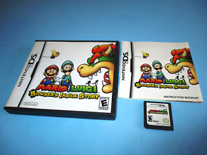 Details About Mario Luigi Bowser S Inside Story Nintendo Ds Game W Case Manual