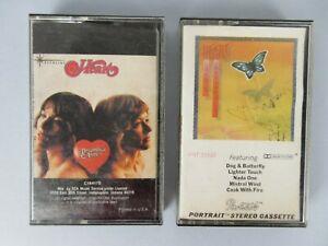 Vintage Heart Lot of 2 Cassette Tapes Rock Hard Rock