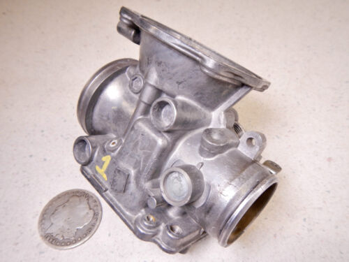 84 HONDA NIGHTHAWK CB700SC LEFT OUTER CARBURETOR BODY HOUSING #1