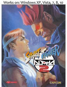 Details about Street Fighter Alpha 2 PC Game 1997 Windows XP Vista 7 8 10