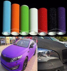Details about 1 Lot Samples - Hot Car Sparkle Flashy Glitter Vinyl Wrap  Sticker Film Air Free
