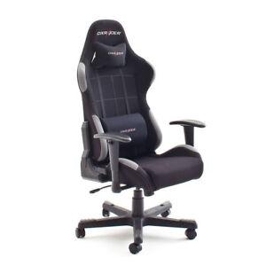 DX RACER 5  Computerstuhl Game Chair Bürostuhl  in schwarz und grau