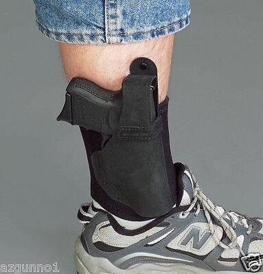 "Galco Ankle Lite Holster Black Right Hand Fit COLT 3/"" 1911//KIMBER 3/"" 1911 AL424B"