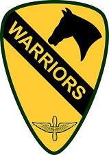 Incorniciato US MILITARY INSIGNIA stampa -- 1st cavalry Brigata Aviazione (ARMY NAVY USAF