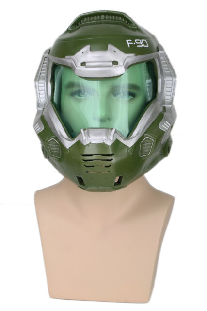 Xcoser Game Doom Doomguy Helmet Cosplay Resin Mask For Halloween