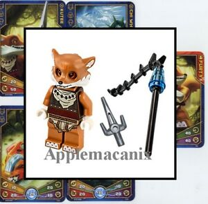 LEGO-70111-FURTY-Minifigure-Legends-of-Chima-Minifig-Figure-Fox-NEW-amp-GENUINE