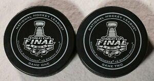 2013-Stanley-Cup-Final-Game-1-2-Puck-Chicago-Blackhawks-Boston-Bruins-NHL-Hockey