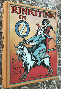 Rinkitink-In-Oz-and-MAP-BEST-Facsimile-of-1916-First-Edition-L-Frank-Baum