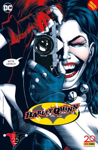 BATMAN HARLEY QUINN-TAG 2017 SPECIAL deutsch GRATIS-HEFT Detective Comics 831