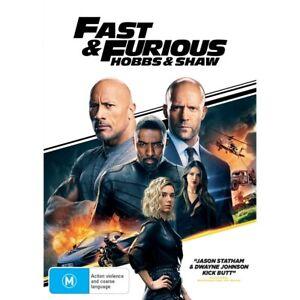 Fast & Furious: Hobbs & Shaw DVD