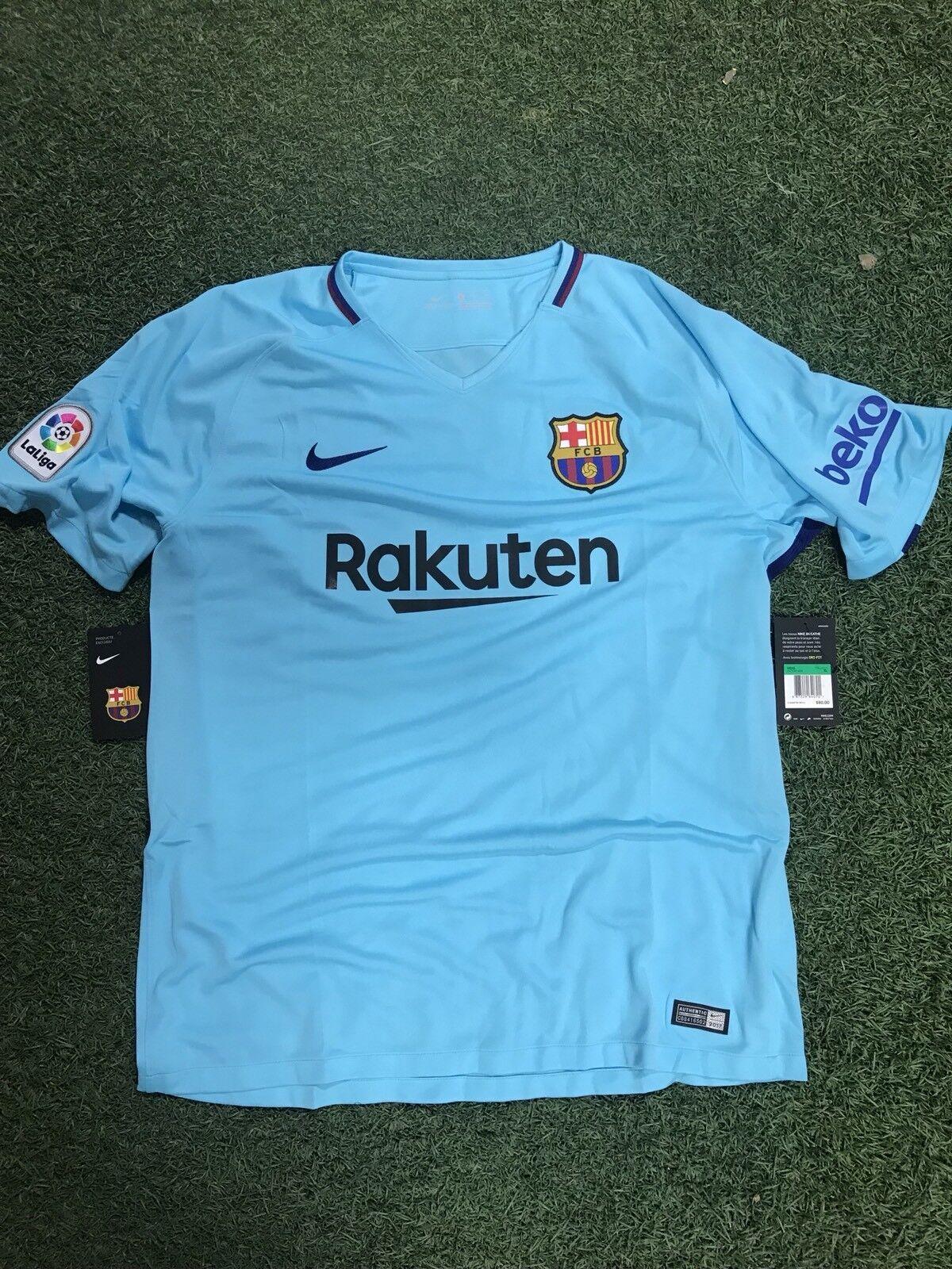 NIKE FC Barcelona 17 18 Away Men's Jersey