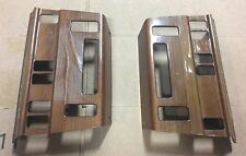 2 TWO MERCEDES W124 ZEBRANO WOOD CLIMATE CONTROL PANELS HVAC E320 300E