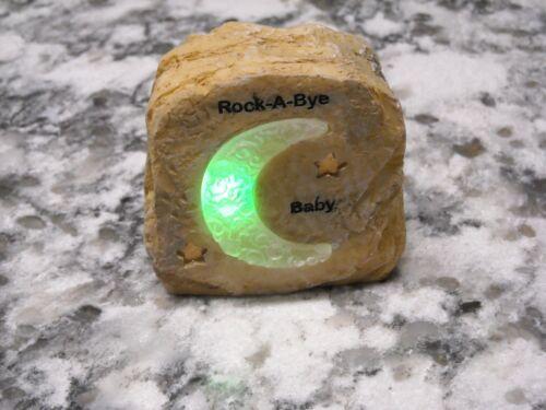 Rock a bye Baby Rock Mini Nightlight LED Moon Nightime NEW