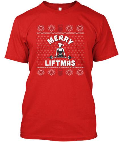 Standard Unisex T-shirt Standard Unisex T-shirt Trendy Merry Liftmas