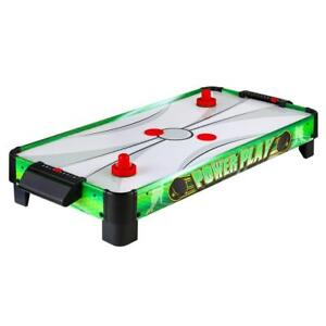 Portable 39 in. L x 19 in. W x 0.125 in Power Play 40 in. Air Hockey Table