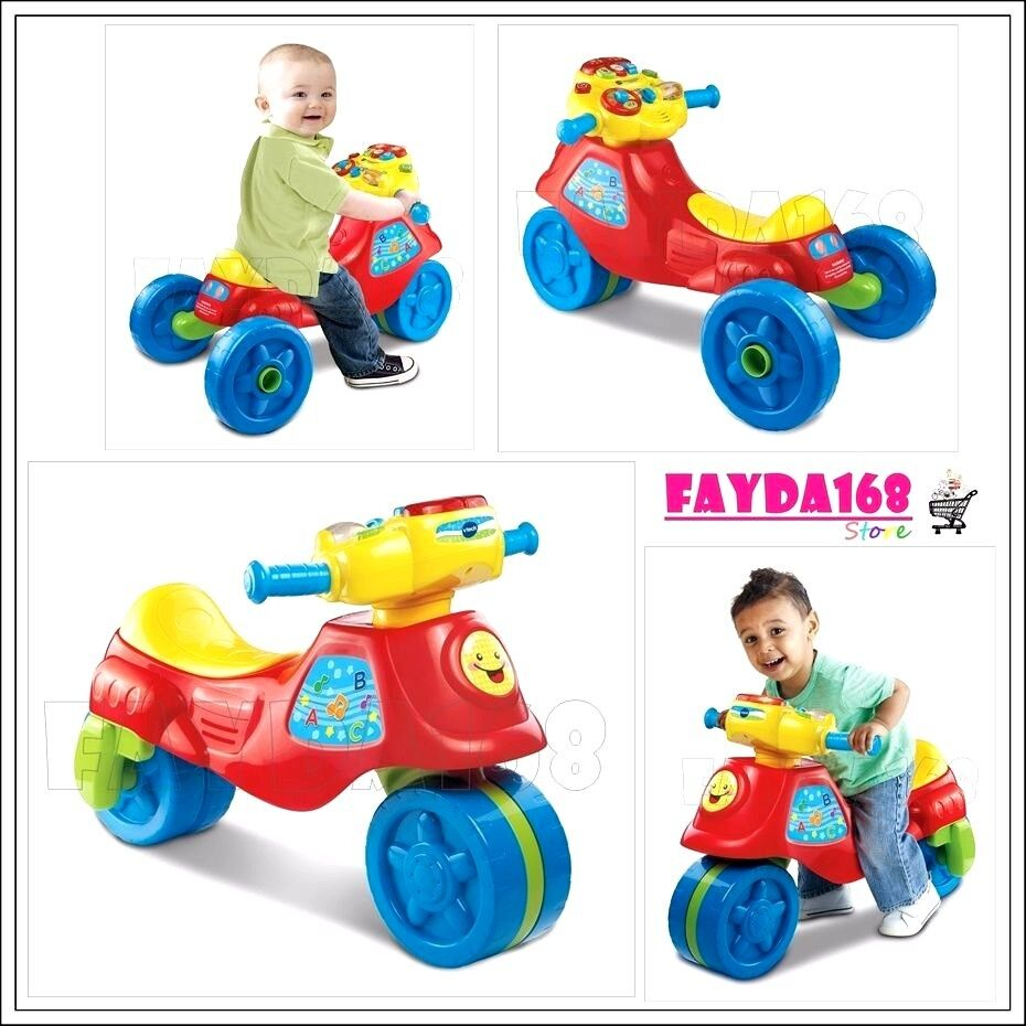 toys 2 in 1 learn motor bike sounds toddler indoor outdoor kids ride on fun gift ebay. Black Bedroom Furniture Sets. Home Design Ideas