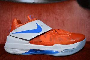 9242a0cd7473 La foto se está cargando Nike-Zoom-KEVIN-DURANT-KD-4-CREAMSICLE-Naranja-