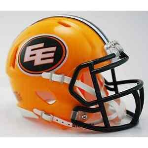 EDMONTON-ESKIMOS-Riddell-Revolution-SPEED-Mini-Football-Helmet-CFL