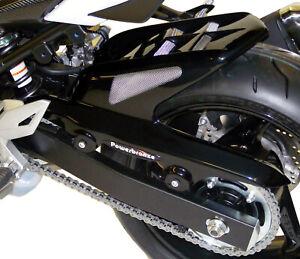 SUZUKI-GSR750-11-16-GSX-S750-15-16-Black-Silver-Mesh-Hugger-Powerbronze