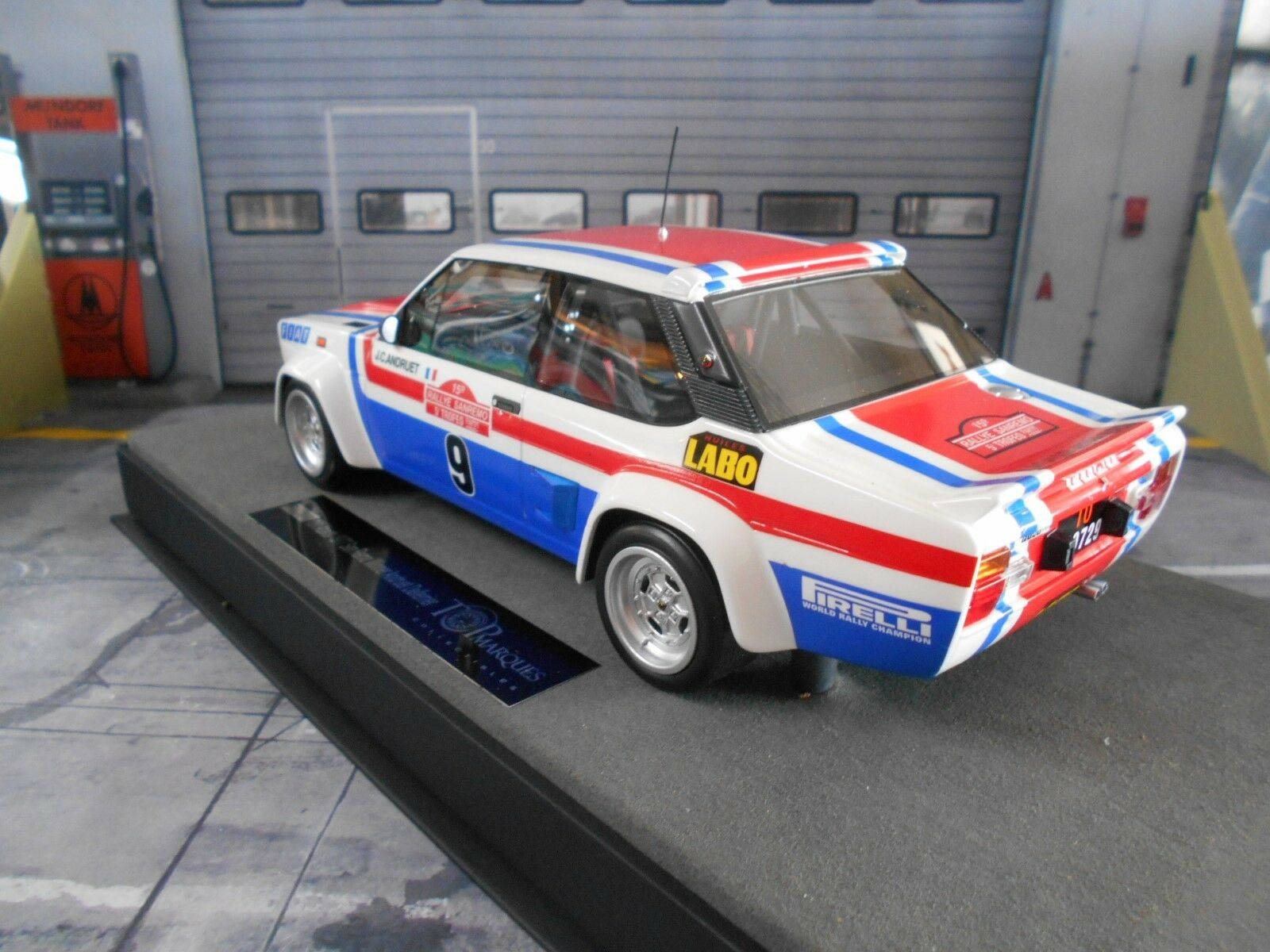 Fiat 131 Abarth Rallye San San San Remo 1977 Winner #9 Andruet vainqueur Top Marques 1:18 | Insolite  | D'ornement  | Sortie  ea0d94