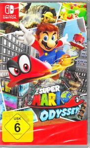 Super Mario Odyssey - Nintendo Switch - NEU & OVP - Deutsche USK Version