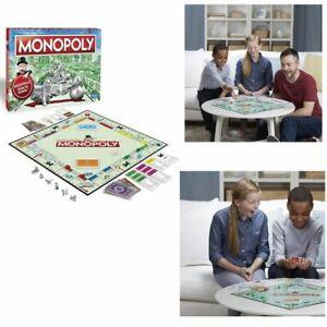 Monopoly-Classique-Jeu-de-societe-Jeu-de-plateau-Version-francaise-Famille