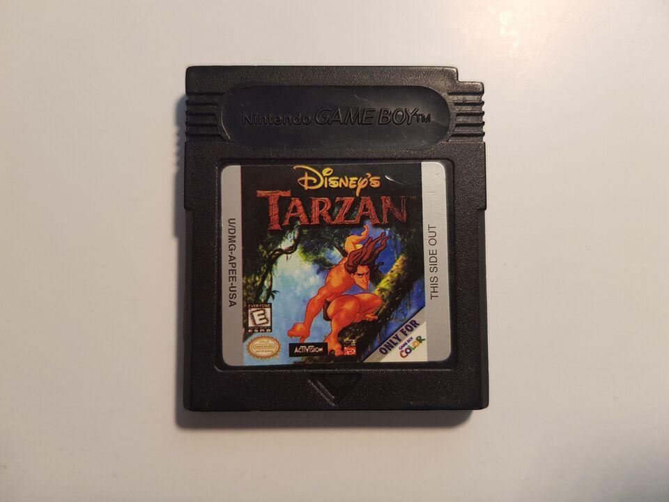 Tarzan, Gameboy