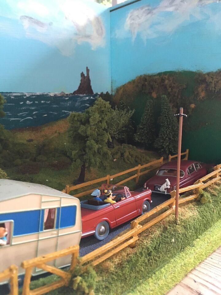Andre samleobjekter, Tintin diorama