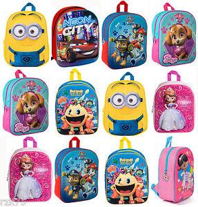 Image Is Loading Character 3d Effect Children 039 S School Bag