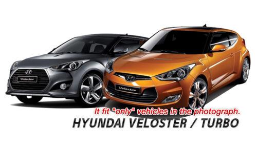 Turbo Belt Point Garnish Metal hairline Cover 2Pcs for HYUNDAI 11-17 Veloster