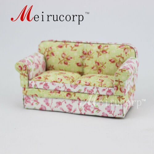 Floral pattern sofa for Fine 124 Scale Miniature