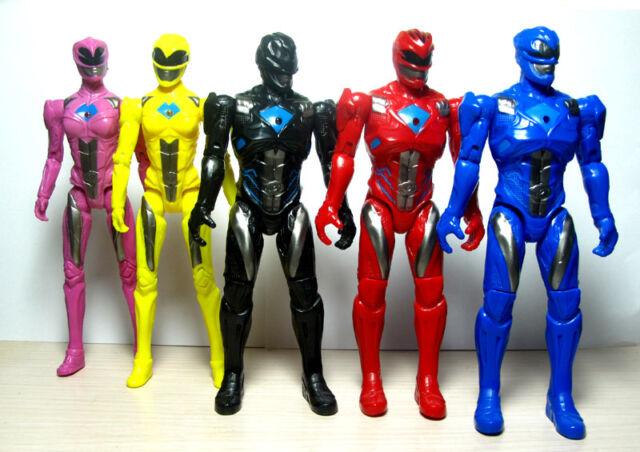 5 pcs Power Rangers Movie Action Figure Jason Billy Trini Toy Cake topper 3/'/'