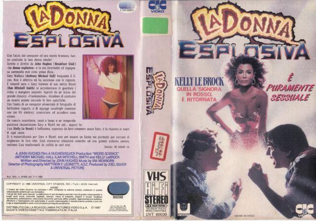 La donna esplosiva (1985) VHS