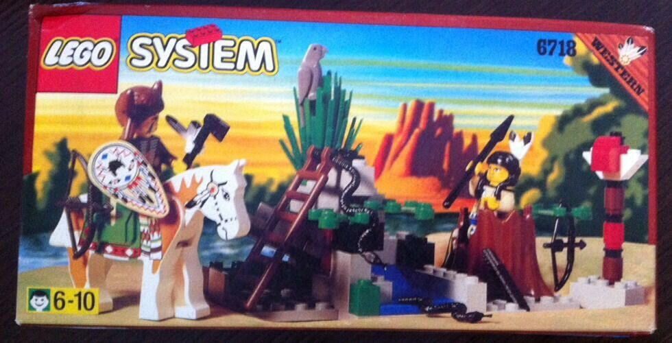 LEGO System 6718 Western Bandit BNIB Great Great Great Deal Factory Sealed e5e904