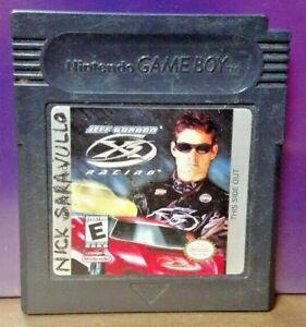 Jeff-GOrdon-Racing-X2-Game-Boy-Color-GB-Rare-TESTED-GBA-Advance-GBC-Nintendo