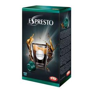 Details About Starbucks Verismo Podpronto K Fee Espresto Espresso Passionato Capsules 16 Pods