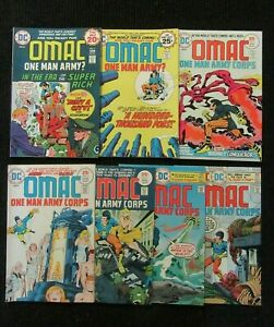 OMAC-2-3-4-5-6-7-8-Very-High-Grade-Sold-As-Lot