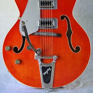 Bigsby-B7-Left-Handed-Vibrato-fits-LP-style-solid-body-Archtop-electric-guitar